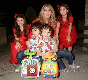 Malika Benhaffaf, Angie Benhaffaf, Iman Benhaffaf, Hassan Benhaffaf and Hussein Benhaffaf - Sinead O'Connor & guests at The Late Late...