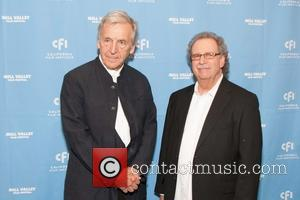 Costa-gavras and Mark Fishkin
