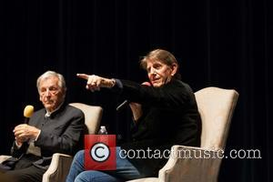Costa-gavras and Peter Coyote