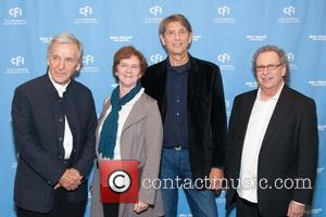Costa-gavras, Zoe Elton, Peter Coyote and Mark Fishkin