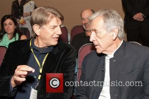 Peter Coyote and Costa-gavras