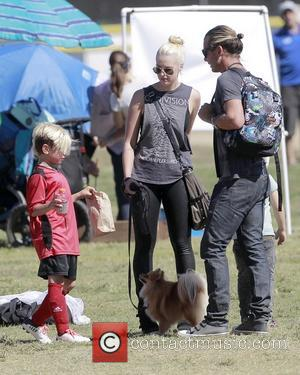 Gavin Rossdale and Kingston Rossdale