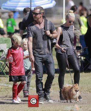 Gavin Rossdale, Kingston Rossdale and Zuma Rossdale
