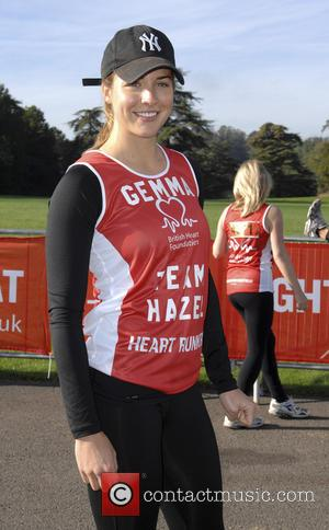 Gemma Atkinson - Blenheim Palace Half Marathon 10k and Family Fun Run for British Heart Foundation - London, United Kingdom...