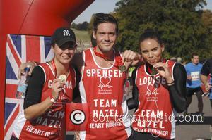 Gemma Atkinson, Spencer Matthews and Louise Hazel