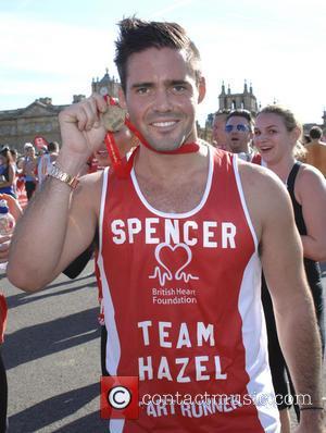Spencer Matthews - Blenheim Palace Half Marathon 10k and Family Fun Run for British Heart Foundation - London, United Kingdom...