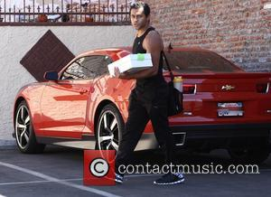 Corbin Bleu - Corbin Bleu arrives for the last practice day of week 4 of the 'Dancing With The Stars'...