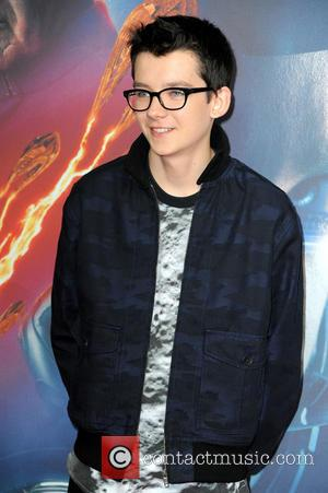 Asa Butterfield - Photocall for 'Ender's Game