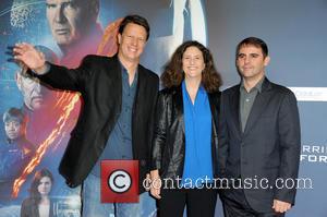 Gavin Hood, Gigi Pritzker and Roberto Orci