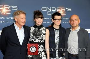 Harrison Ford, Hailee Steinfeld, Asa Butterfield and Ben Kingsley