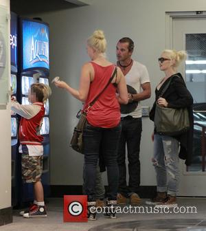 Kingston Rossdale, Gavin Rossdale and Gwen Stefani