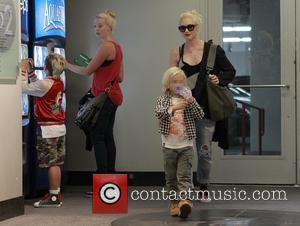 Gwen Stefani, Zuma Rossdale and Kingston Rossdale