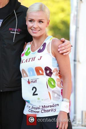Katherine Jenkins - Celeb Photocall at half marathon in aid of the the Royal Parks Foundation in Hyde Park, London...