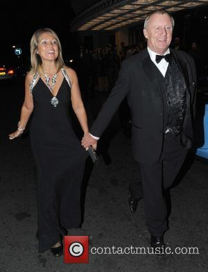 Chris Tarrant and Jane Bird - Shooting Star Chase Ball at The Dorchester Hotel - Outside - London, United Kingdom...