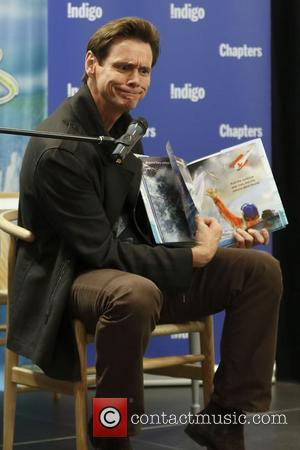 Jim Carrey - Jim Carrey makes an appearance in Toronto as he signs copies of his first children's book 'How...