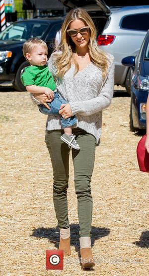Kristin Cavallari - Kristin Cavallari Takes Son Camden to Mr Bones Pumpkin Patch - Los Angeles, CA, United States -...