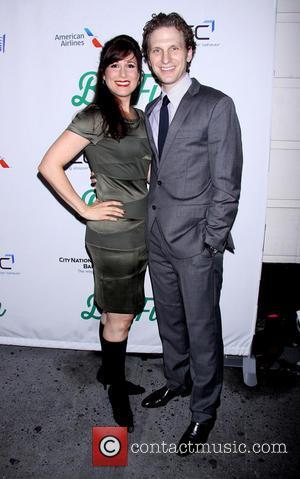 Sebastian Arcelus and Stephanie J. Block