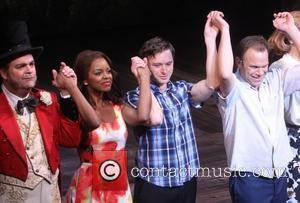 Big Fish, Brad Oscar, Krystal Joy Brown, Bobby Steggert and Norbert Leo Butz