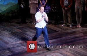 Norbert Leo Butz - Opening night curtain call for the Broadway musical Big Fish at the Neil Simon Theatre. -...