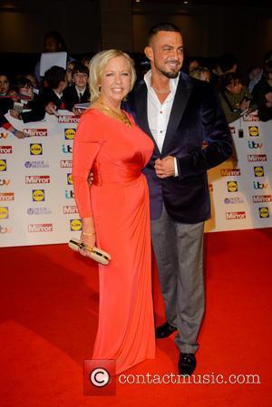 Deborah Meaden and Robin Windsor - Pride Of Britain Awards 2013 held at the Dorchester Hotel - Arrivals - London,...