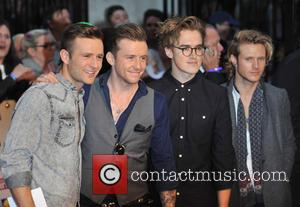 McFly - Pride of Britain Awards held at the Grosvenor House - Arrivals. - London, United Kingdom - Monday 7th...