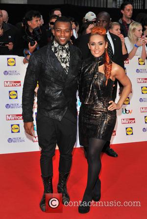Oritse Williams and Guest - Pride of Britain Awards held at the Grosvenor House - Arrivals. - London, United Kingdom...