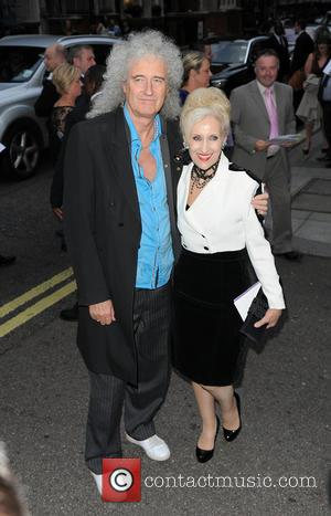 Anita Dobson and Brian May - Pride of Britain Awards held at the Grosvenor House - Outside Arrivals - London,...