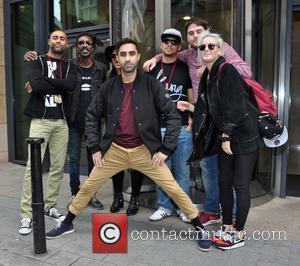 Rudimental, Dj Locksmith, Amir Izkadeh, Kesi Dryden and Piers Agget