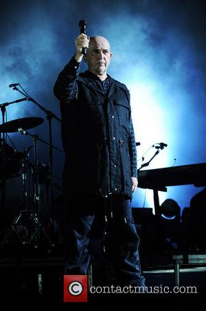 Peter Gabriel - Peter Gabriel performs on stage as part of Back To Front: So live 2012 / 2013 at...
