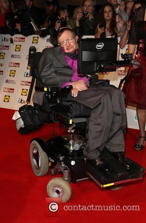 Professor Stephen Hawking - The Pride of Britain Awards 2013 - Arrivals - London, United Kingdom - Monday 7th October...