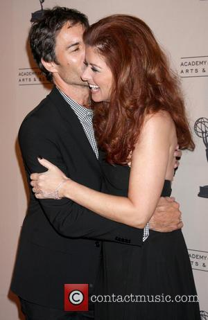 Eric McCormack and Debra Messing - An Evening With James Burrows at the Academy of Television Arts and Sciences -...