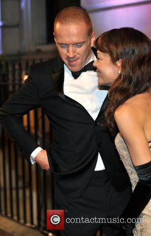 Damian Lewis and Helen McCrory - The BFI Luminous gala dinner & auction held at 8 Northumberland Avenue - Arrivals...