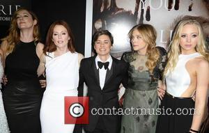 Judy Greer, Julianne Moore, Kimberly Peirce, Chloe Grace Moretz and Portia Doubleday