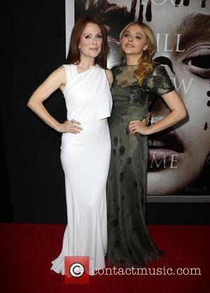 Julianne Moore and Chloe Grace Moretz
