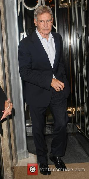 Harrison Ford - Celebrities leaving Claridge's Hotel - London, United Kingdom - Tuesday 8th October 2013