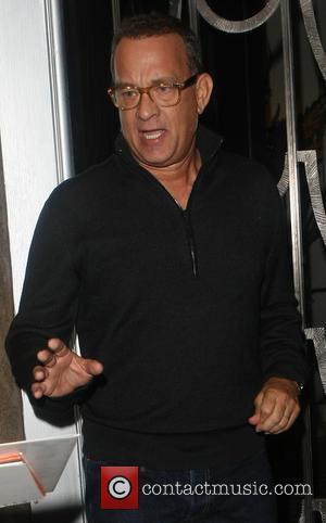 Tom Hanks - Celebrities leaving Claridge's Hotel - London, United Kingdom - Tuesday 8th October 2013