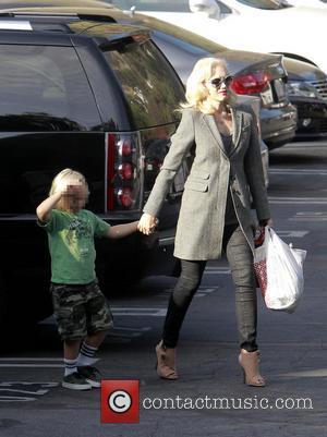 Zuma Rossdale and Gwen Stefani