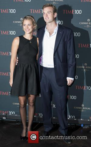 Holly Branson and Fred Andrews - London Time 100 event held at Aqua inside The Shard - Arrivals - London,...
