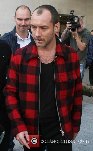 Jude Law - Celebrities at the BBC Radio 1 studios - London, United Kingdom - Tuesday 8th October 2013