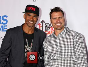 Shemar Moore and Joshua Morrow - CBS After Dark - A Evening of Laughter benefiting stand up to cancer at...