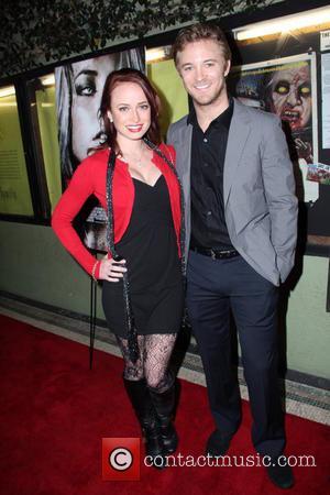 Michael Welch and Samantha Machio