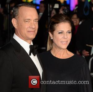 Tom Hanks and Rita Wilson - BFI London Film Festival: Captain Phillips - Opening Night Gala Screening held at the...