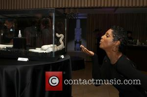 Toni Braxton - The Black Diamond Affair_Inside Held at Sunset Tower Hotel - West Hollywood, California, United States - Wednesday...