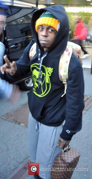 Lil Wayne - American rapper Lil Wayne ( Dwayne Michael Carter, Jr ) arriving at Dublin Airport this evening. Lil...