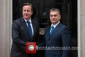 David Cameron and Viktor Orban