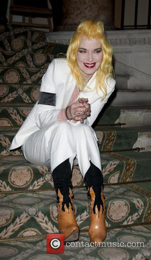 Pam Hogg - 8th Annual Scottish Fashion Awards 2013 at Dover House - Arrivals - London, United Kingdom - Wednesday...