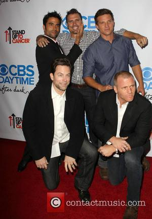 Ignacio Serricchio, Joshua Morrow, Steve Burton and Guests - CBS After Dark A Evening Of Laughter Benefiting Stand Up To...