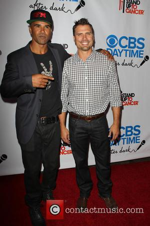 Shemar Moore and Joshua Morrow - CBS After Dark A Evening Of Laughter Benefiting Stand Up To Cancer Held at...