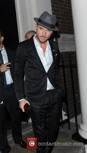 Matt Goss - Matt Goss seen leaving the Arts Club in Mayfair at 4am via the backdoor after a night...