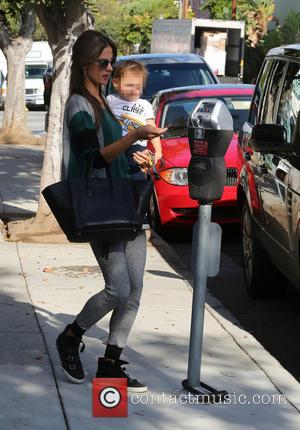 Alessandra Ambrosio and Noah